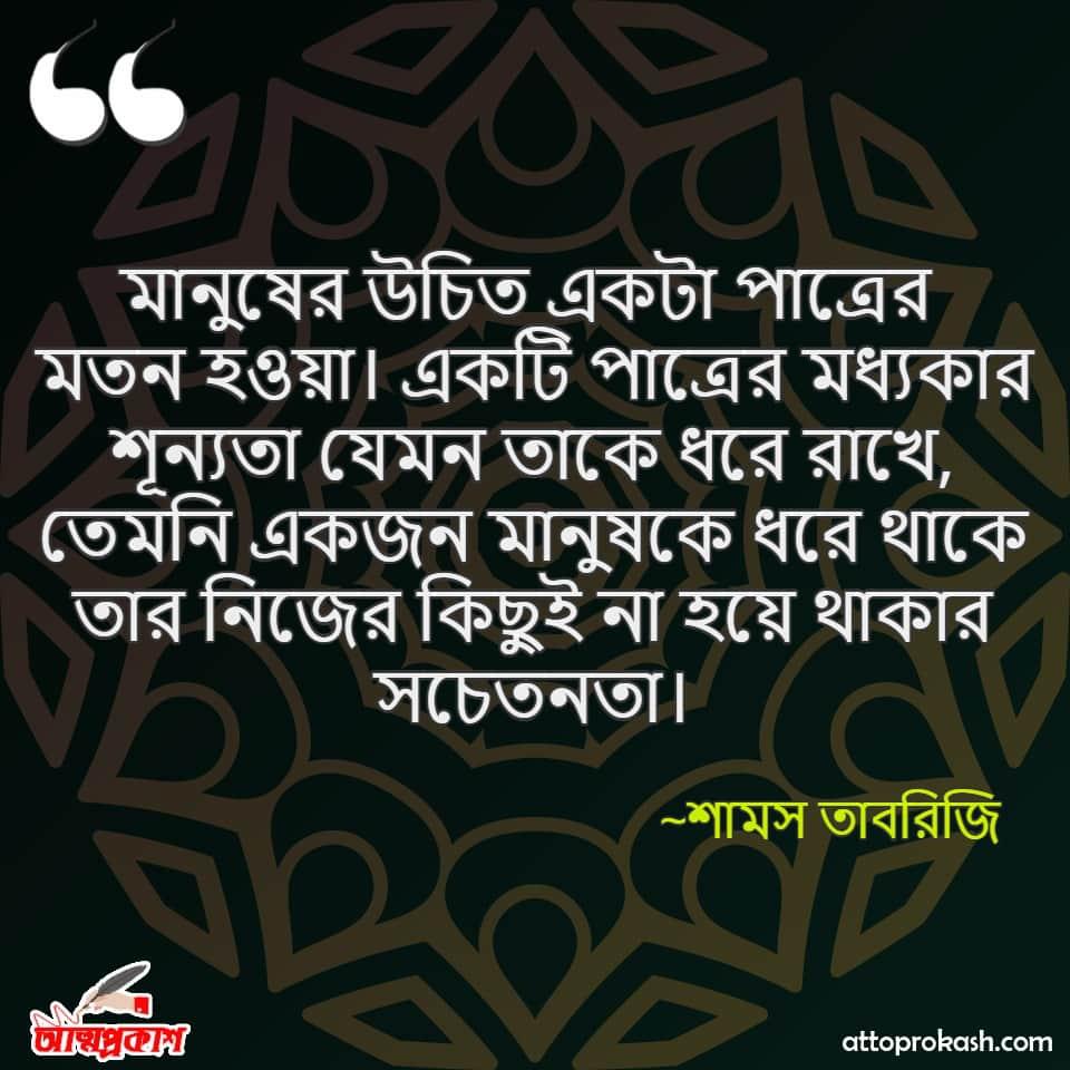 শামস-তাবরিজির-উপদেশ-দিয়ে-উক্তি-Shams-Tabrizi-quotes-on-advice-in-bangla-bengali-ukti