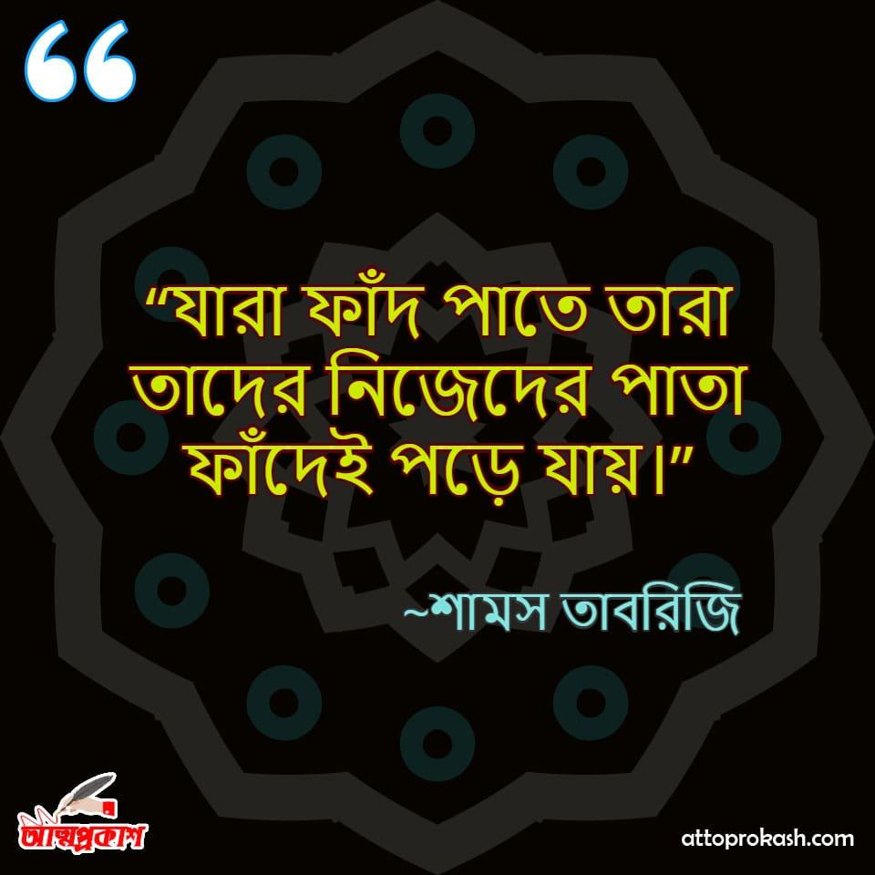 শামস-তাবরিজির-প্রতারণা-নিয়ে-উক্তি-Shams-Tabrizi-quotes-on- cheating-in-bangla-bengali-ukti